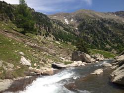 Pêche en haute montagne