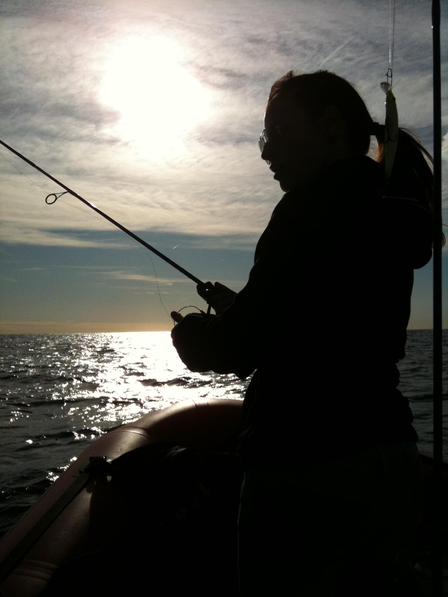 Pêche au féminin