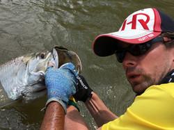 Tarpon fishing trip Nicaragua