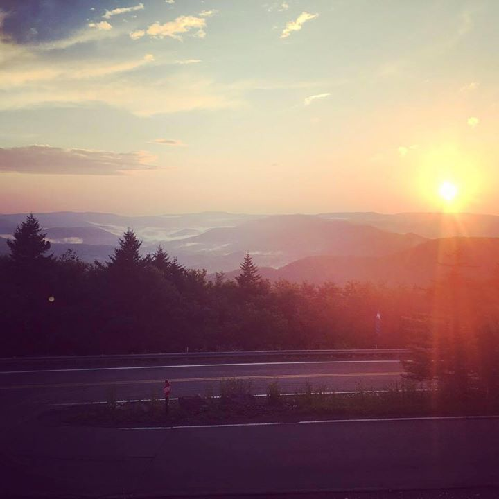 West Virginia at Sunset