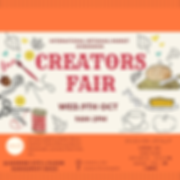 Flyer (for Instagram) Creators Fair, 9th