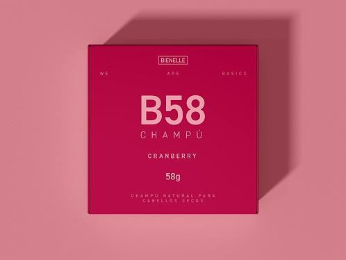 Champú B58 Cranberry