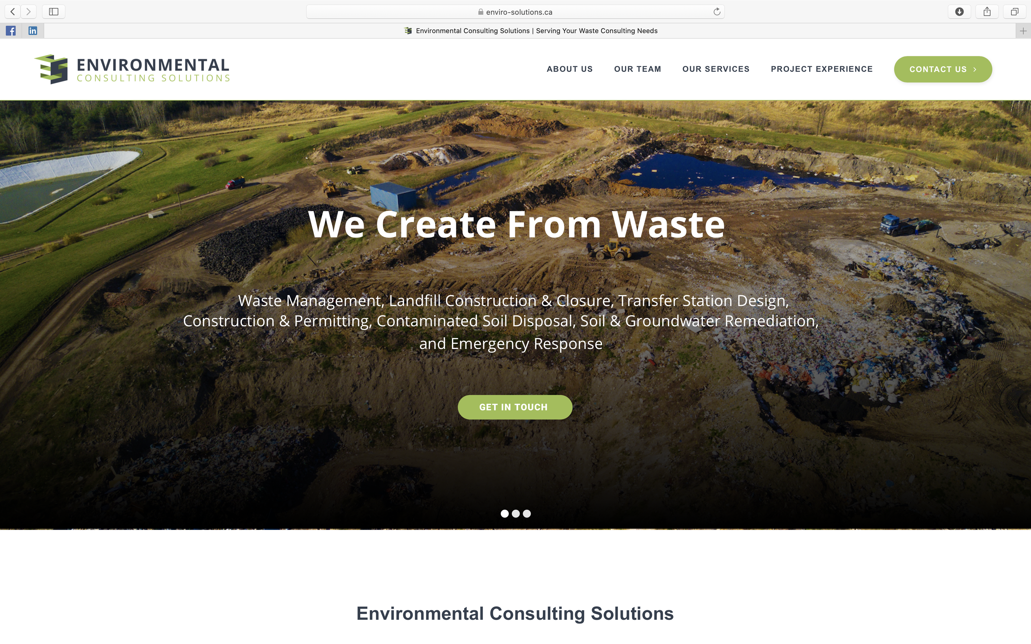 Environmental Consulting Solutions