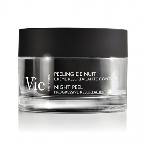 Vie Collection Night Peel Progressive Resurfacing Cream -