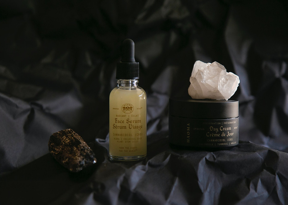 A couple of CBD-infused facial products