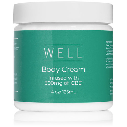 Well CBD Body Cream
