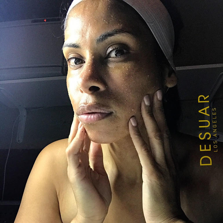 Exfoliation of the face
