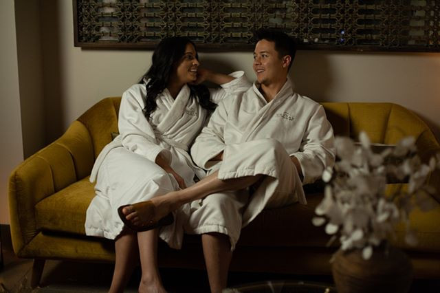 It's all smiles at DESUAR Spa. Tag a fri
