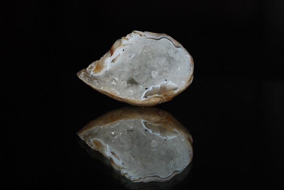 Calcédoine blanche