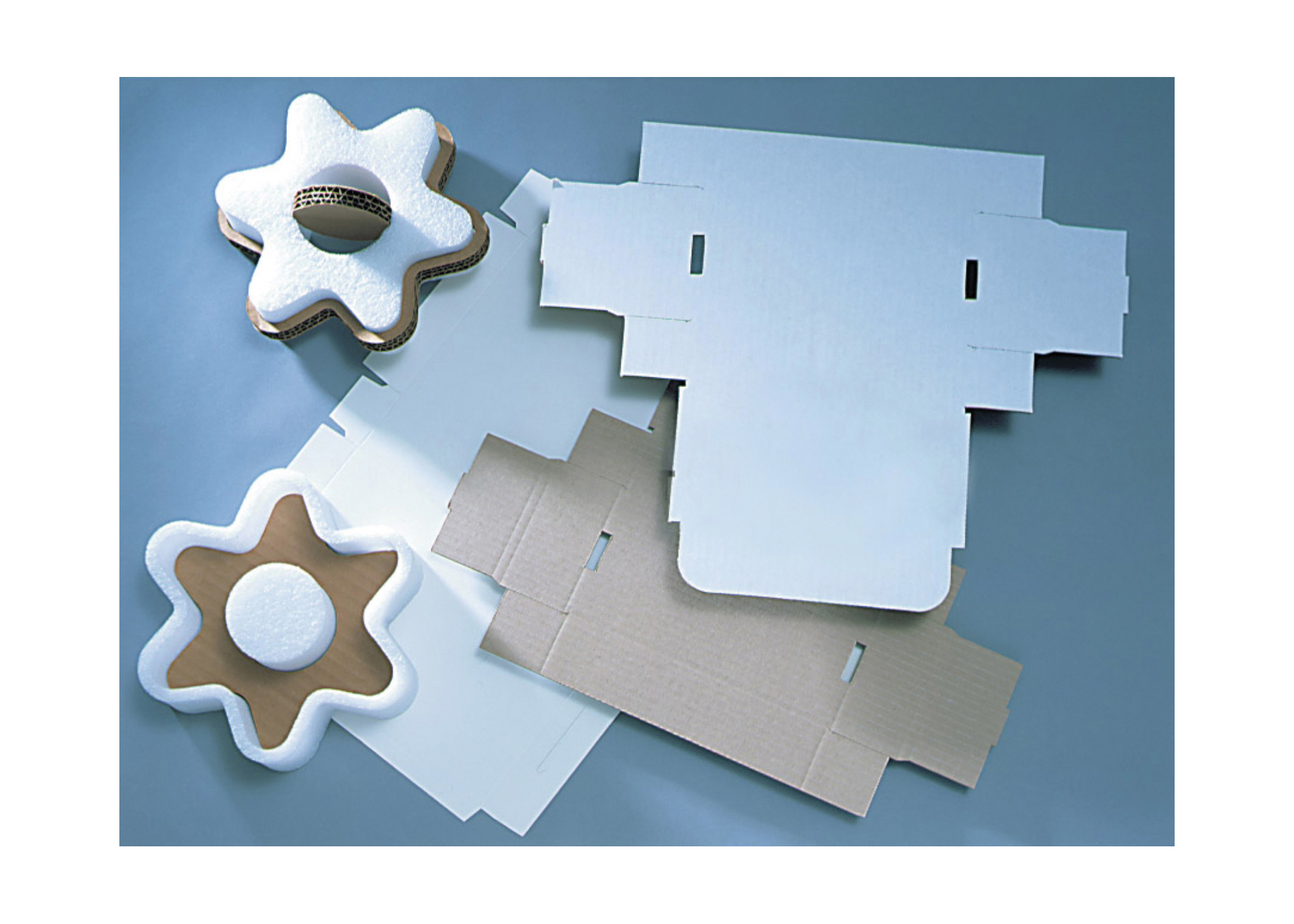 Foam and Cardboard Cutting