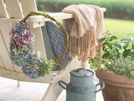 Make your Own Hydrangea Wreath