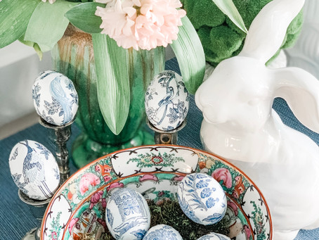 How To: Chinoiserie Easter Eggs