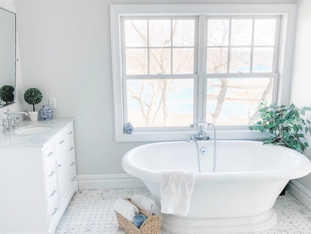 How to add Character to your White Bathroom