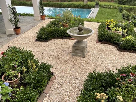 Building a European Inspired Potager Garden