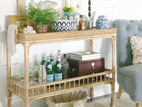 Bar Cart Styling Ideas