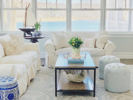 Coastal Decorating, without being overly themed