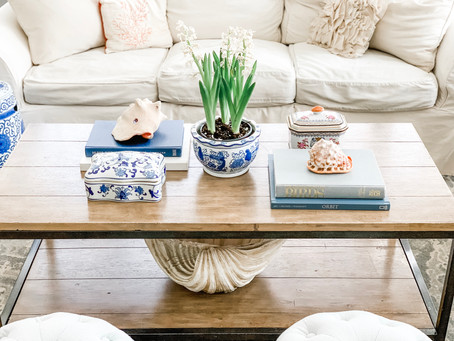3 Ways to Decorate a Chic & Functional Coffee Table