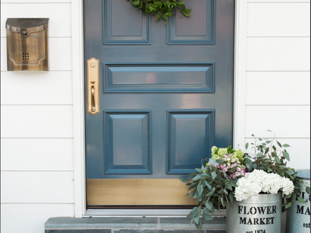 Spring Makeover ideas for your Front Door