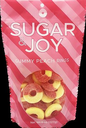Sugar & Joy Gummy Peach Rings