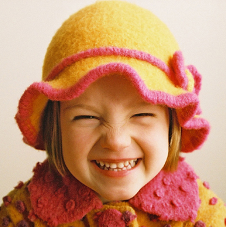 Wavy Flower Hat