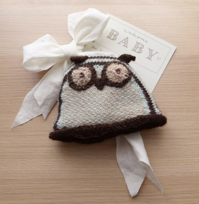 Owl Hat for Babies