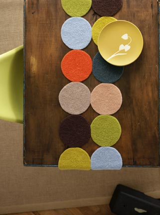 Circles Table runner