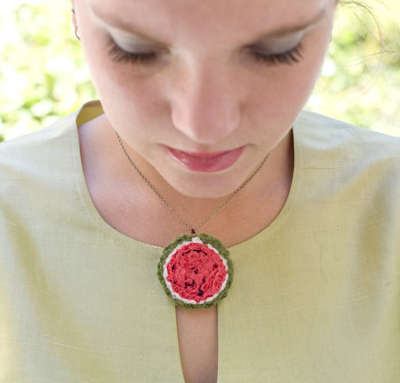 Watermelon Pendant