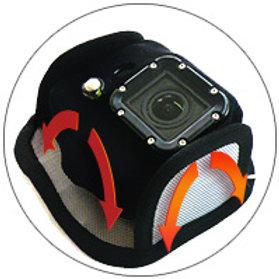 Magnetische Halterung für Action-Kamera