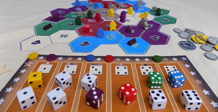 Meeples Claim Jumpers JonnyPac Board Game Design