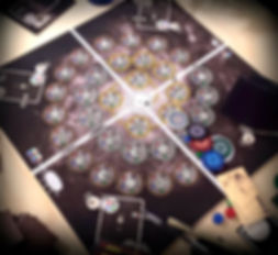 Echo Locations Board Game by Zack Panborn and JonnyPac