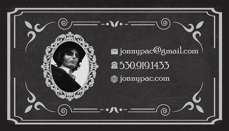 JonnyPac Board Game designer developer contact info Placerville CA 95667 USA