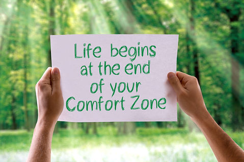 Life Begins at the End of your Comfort Z