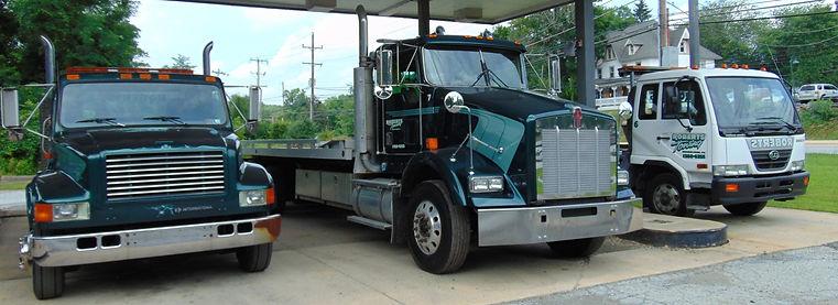 Roberts Towing Trucks