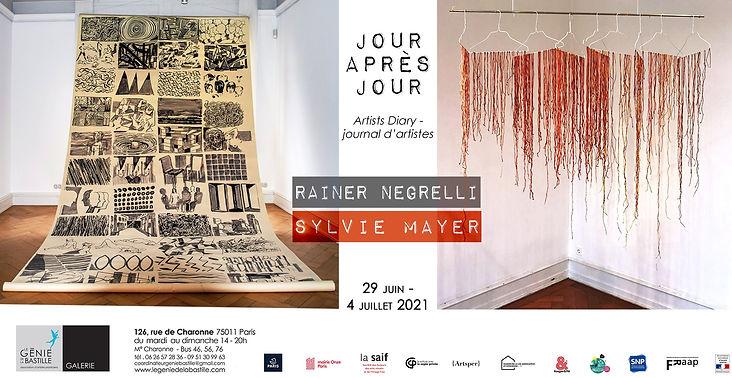 Plakat RainerNegrelliSylvieMayer Juni 20