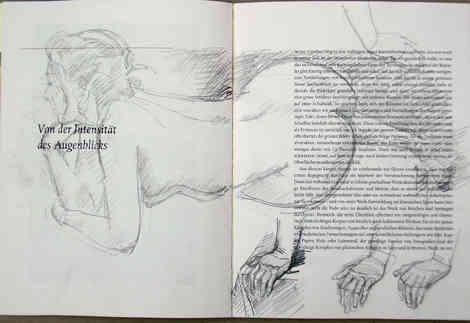 Skizze im Buch
