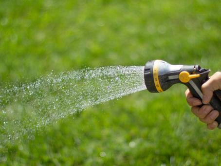 Three Ways to Save Water