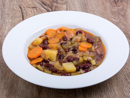 Carrot & Black Bean Soup