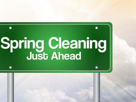 5 Things to Put on Your Spring Cleaning To-Do Lists