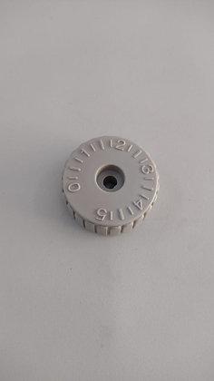 Dial de tamanho de pontos reta modelo siruba