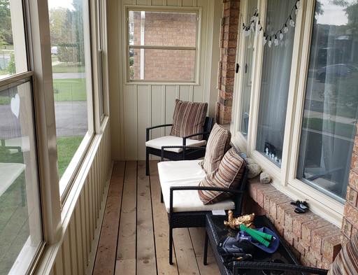 Inside Porch