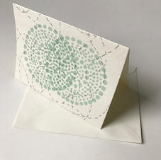 Blank Greeting Card(screenprint)