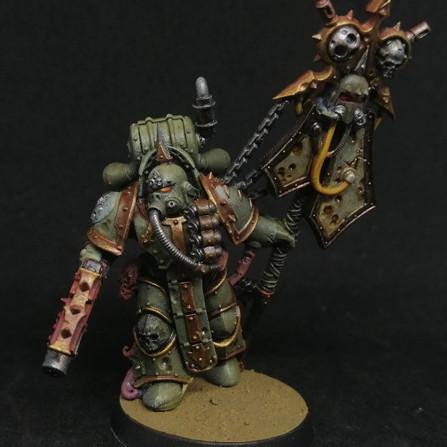 Warhammer 40.000 Conquest #66 - Plague Marine Icon Bearer