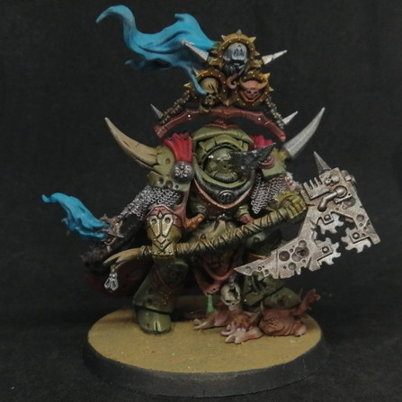 Warhammer 40.000 Conquest #46 - Foetid bloat-drone, Lord of contagion et 4 plagues marines (et demi)