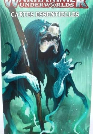 Warhammer Underworlds - paquet de cartes essentielles