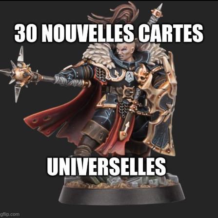 Warhammer Underworlds - Les cartes universelles des Ravageurs de Khagra