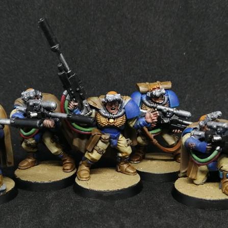 Warhammer 40.000 Conquest #67 - Scouts avec fusils de sniper