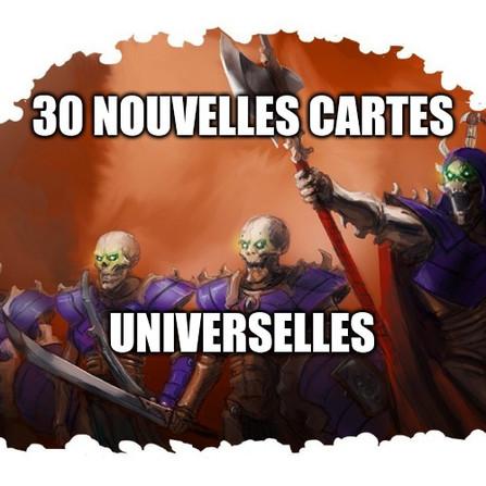Warhammer Underworlds - Les cartes universelles des Collecteurs de Kainan