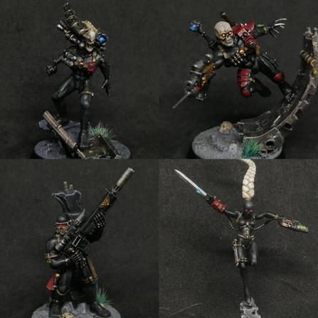 Warhammer 40.000 - Focus sur les assassins Imperiaux