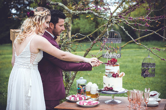 Wedding Cake by Lucile