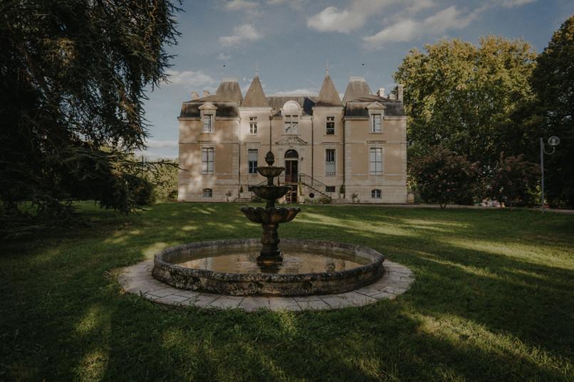 Un château somptueux comme décor